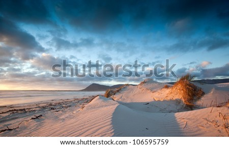 image of ripples in the sand dunes