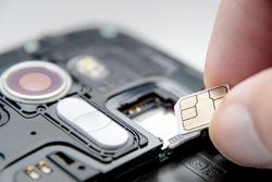 Image of sim card