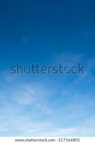 image of sky on day time for background usage(vertical).