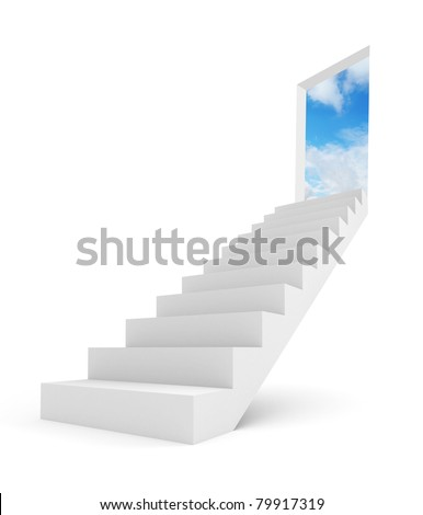 Image of stairway to the top