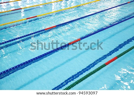 Photo of Image of swimming pool. The top view