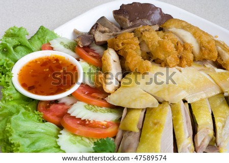 Image of  Thai delicious food