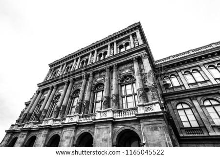 Image of the Magyar Tudományos Akadémia in Budapest, Hungary Stock fotó ©