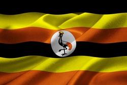 Image of the national flag of Uganda