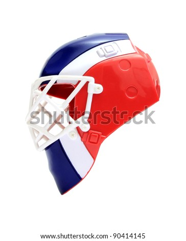 image of the size of a hockey goalie mask