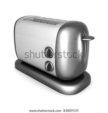 Image of the toaster oven on a white background