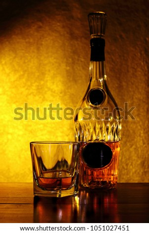 Image of whiskey, brandy, alcohol #1051027451