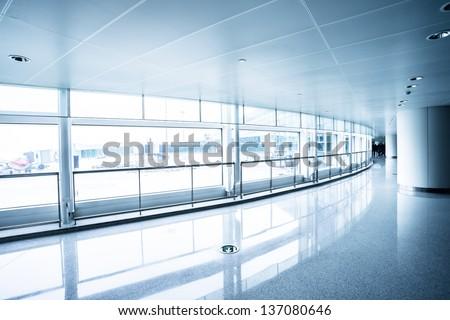 image of windows in morden office building