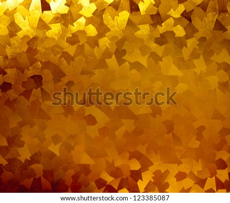 Image of yellow glass texture
