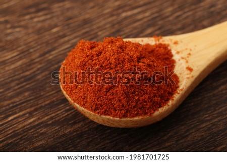 Image shot of paprika powder Stockfoto ©