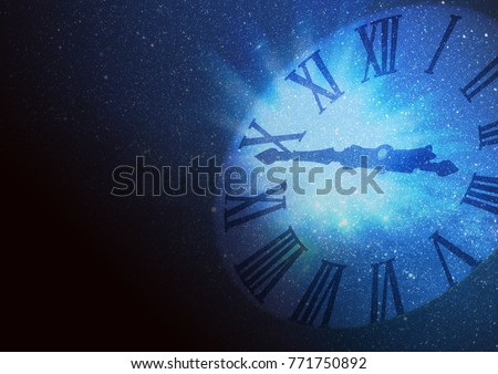 Image traveling in space and time #771750892