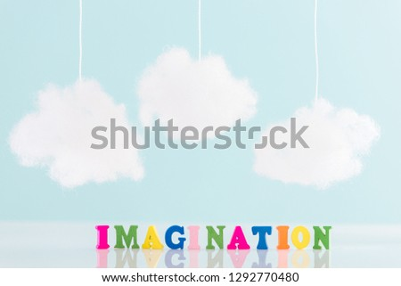 imagination and creativity concept #1292770480