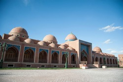 Imamzadeh Mausoleum - a sacred place is located 7 km northward to Ganja the second biggest city of Azerbaijan