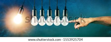 Impetus, Initializing New Ideas, Lightbulbs, School Board Backg #1553925704