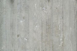 Imprint of the texture of an old wooden wall. Light gray background. Place for text, copy space.