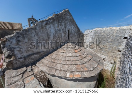 In 1050 a priest from Split by the name of Ivan erected a church and consecrated to Pope St. Sylvester. Father Ivan gave the church over to Benedictines from the Tremiti islands. #1313129666