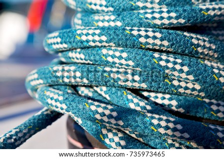 in  australia the concept of navigation whit vassel rope like background #735973465