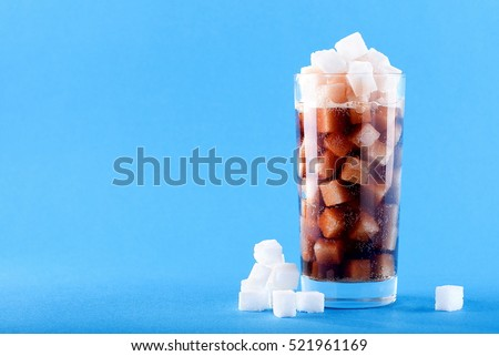 in carbonated beverages Sugar