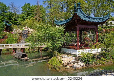 "In fact this picture was taken in ""Paradisio"", where they build the largest ""Chinese garden"" of Europe."