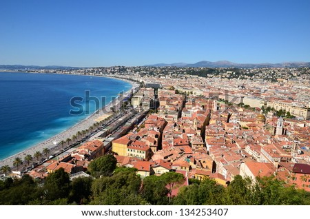 In France, NICE on the french riviera is famous for its annual carnival and the panorama on the angels bay.