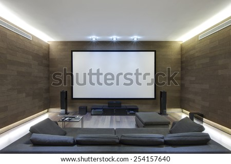 In-Home Theater in Luxury Home #254157640
