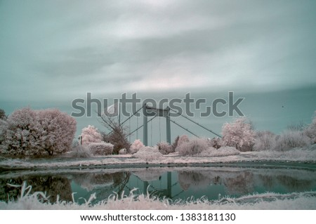 In infrared photography, the film or image sensor used is sensitive to infrared light.