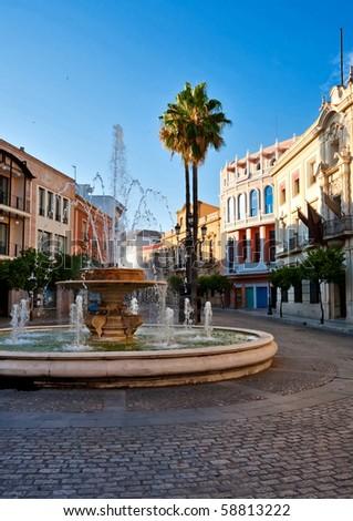 In old Spanish town. Jerez.