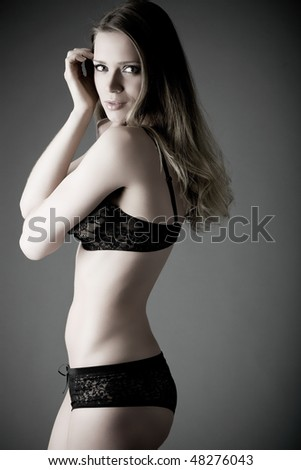 In studio sultry pose #48276043