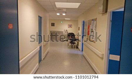 In the corridors of a hospital #1101012794