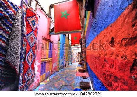 In the medina of Fes in Morocco #1042802791
