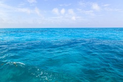 In the middle of the ocean