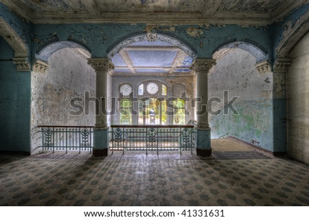 In the old Hospital for Lung Diseases in Beelitz