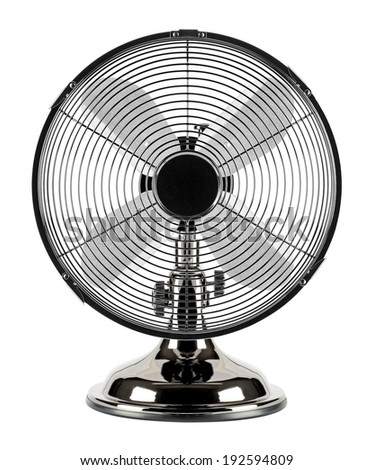In the summer heat, the electric motor-driven fan refreshes the air. Can be used at home or in the workplace.