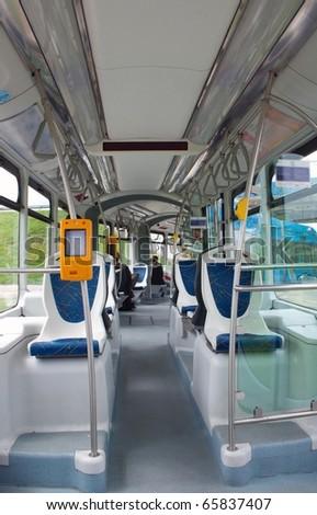 In the tram