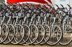 In today's day in age of the Bay Area, everyone is riding the band wagon of getting more conscious about global warming and bikes are becoming more prevalent in the means of transportation.
