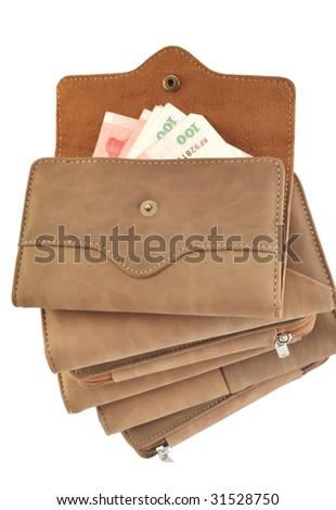 In wallet's money