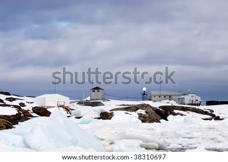 inaccessible antarctic vernadsky science station