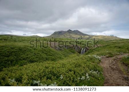 Inactive volcano hike
