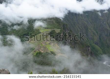 Inca ancient ruin at Peru #216115141