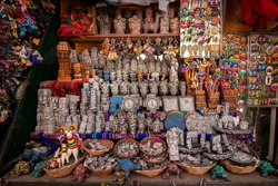 Inca crafts in the city