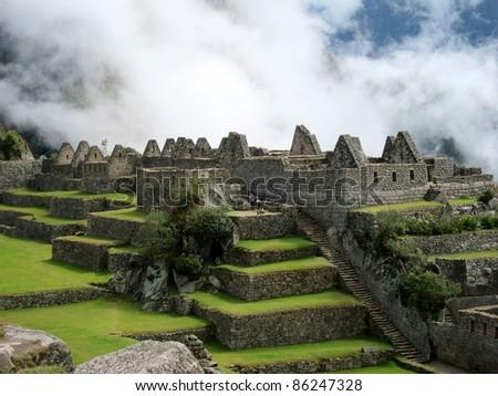 Inca ruins of Machu Picchu, near Cuzco, Peru