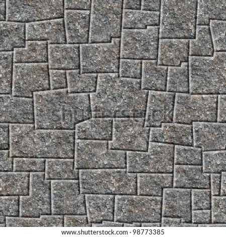 Inca wall seamless pattern - background for continuous replicate. See more seamless backgrounds in my portfolio.