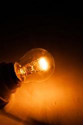 Incandescent Automotive Bulb Clear Glass