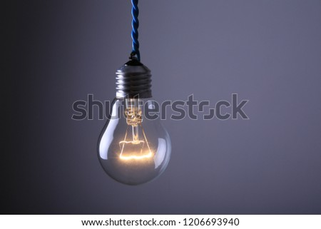incandescent lamp bulb
