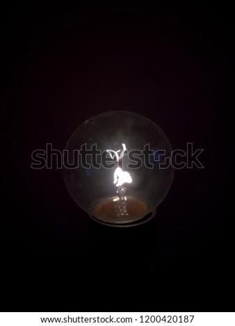 incandescent lamp, filament, light bulb