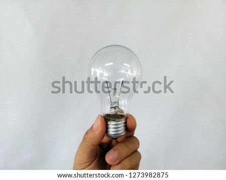 incandescent light bulb, incandescent lamp, incandescent light globe
