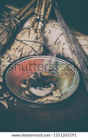 Incense of Salvia Apiana (White sage, sacred sage, bee sage, california sage)  #1351265291