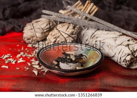 Incense of Salvia Apiana (White sage, sacred sage, bee sage, california sage)  #1351266839