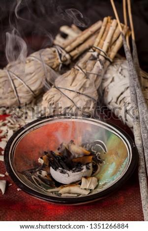 Incense of Salvia Apiana (White sage, sacred sage, bee sage, california sage)  #1351266884