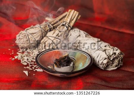 Incense of Salvia Apiana (White sage, sacred sage, bee sage, california sage)  #1351267226